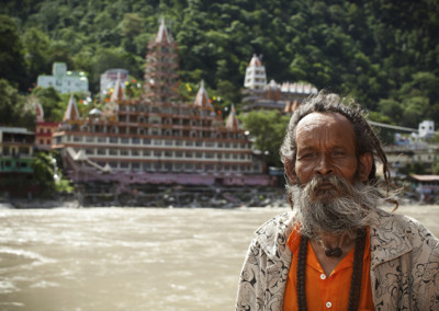 Rishikesh Ashrams and Holly Man