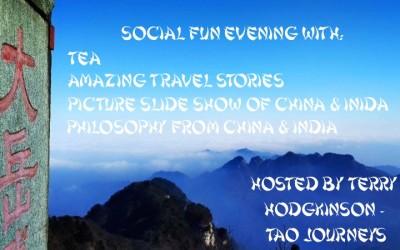 China/India Pictures – Tea – Fun – Social Evening Toronto